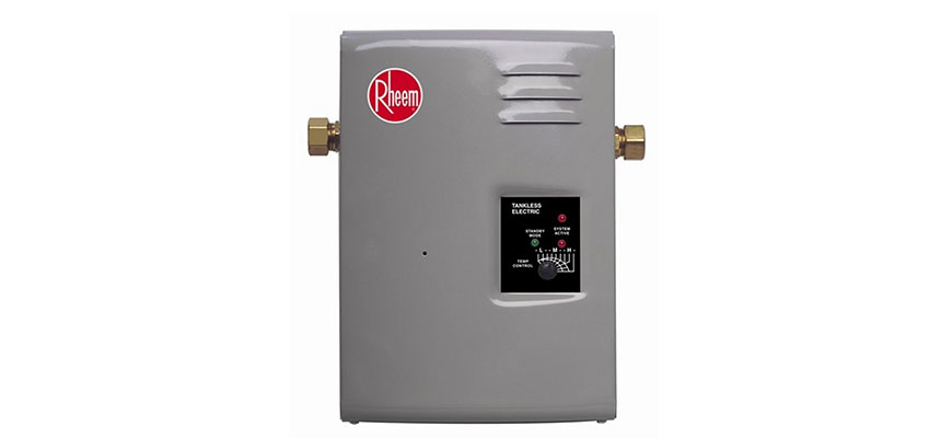 inline water heater replacement in ny
